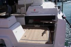 Astrea 42 - Jupe tribord