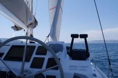 Astrea 42 - Poste de pilotage
