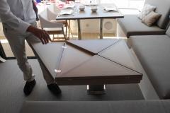 Neel 51 - Table carré repliable