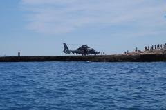 Hélico de la marine